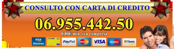 cartomanzia telefonica con carta di credito