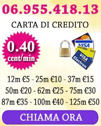 consulto online con carta di credito