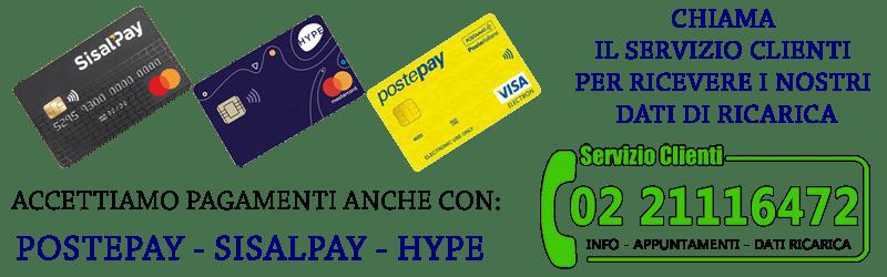pagamenti con prepagata